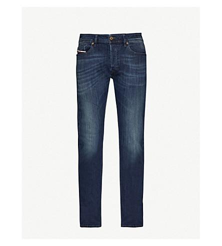 DIESEL Waykee 常规版型直中腰牛仔裤 (牛仔布