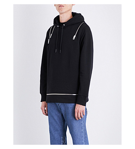 DIESEL S-Ded cotton-blend hoody (Black