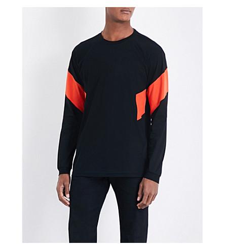 DIESEL T-ray T 恤(黑色)