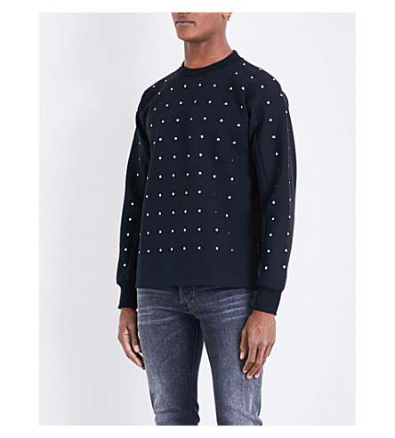 DIESEL S-garbo sweatshirt (Black