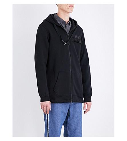 DIESEL S-primus jersey hoody (Black