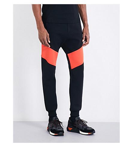 DIESEL P-osma jersey jogging bottoms (Black