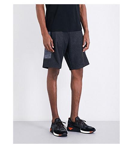 DIESELP-ros平纹针织短裤(黑色