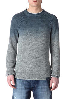 DIESEL Colour-fade jumper