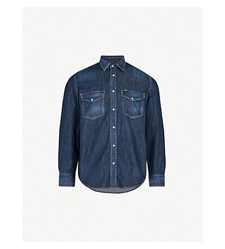 DIESEL D-Rooke regular-fit denim shirt (Denim