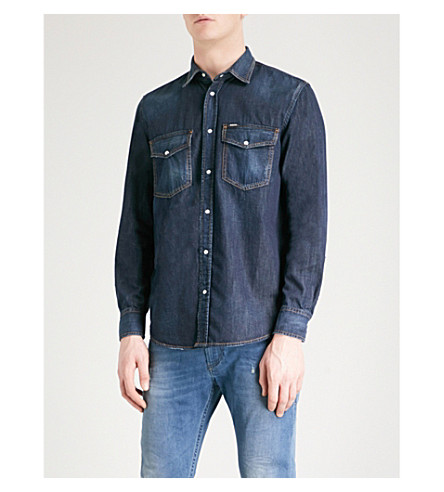 DIESEL D-Rooke regular-fit denim shirt (Denim