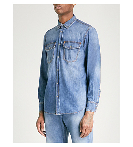 DIESEL Drooke denim shirt (Denim