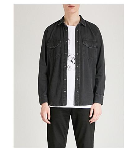 DIESEL Drooke regular-fit denim shirt (Denim+black