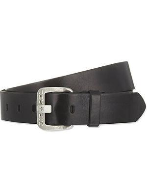 DIESEL B-star leather belt