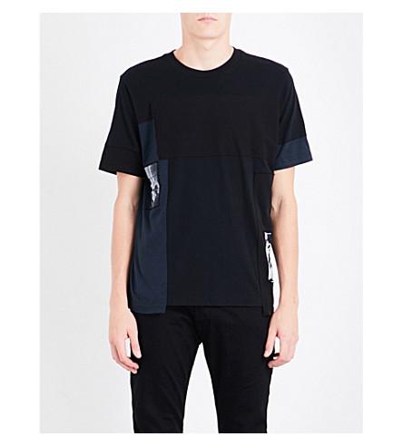 DIESEL T-low cotton-jersey T-shirt (Black
