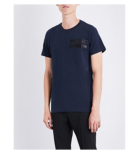 DIESEL T-Patrol cotton-jersey T-shirt (Total+eclipse