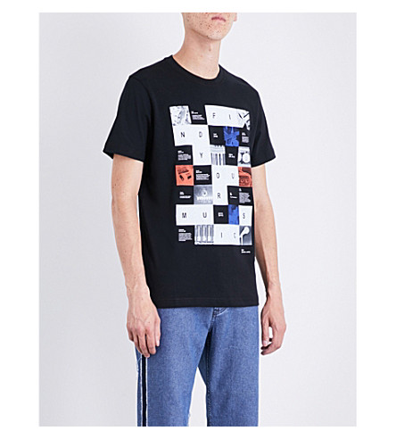 DIESEL T-Joe-Rx cotton-jersey T-shirt (Black