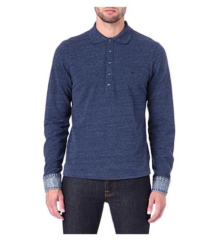 DIESEL T-Alyce-S polo shirt (Blue