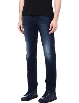 DIESEL Unconventional slim-fit straight jeans