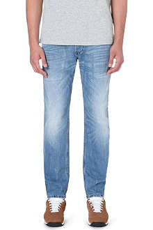 DIESEL Belther slim-fit tapered stretch-denim jeans