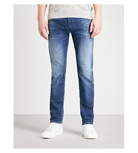 DIESEL Belther 常规版型锥形牛仔裤 (牛仔布