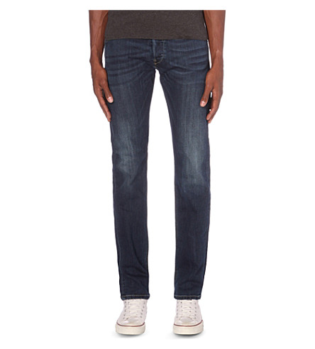 DIESEL Belther slim-fit tapered jeans (Blue