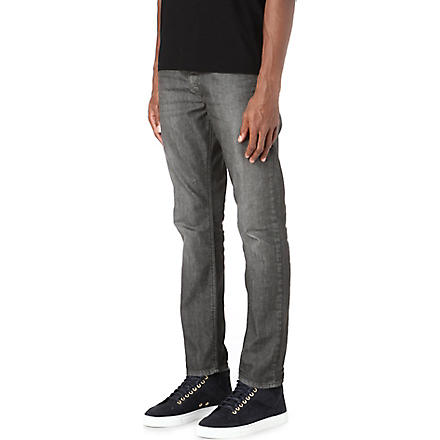 DIESEL Regular slim-carrot fit jeans (Dark+grey