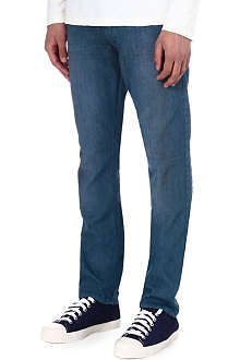DIESEL Regular-slim carrot-fit straight jeans