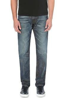 DIESEL Krayver 0833H tapered mid-rise denim jeans