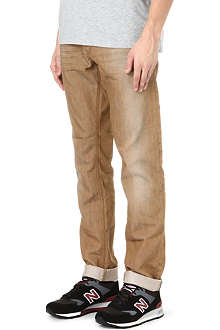 DIESEL Regular-fit slim-carrot jeans