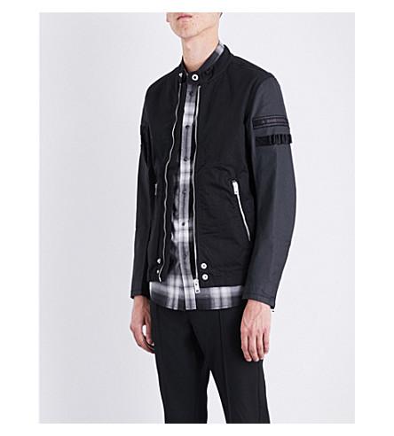 DIESEL J-Mot cotton jacket (Black