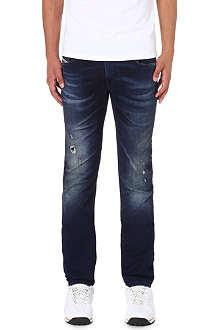 DIESEL Thavar-ne 0607U skinny-fit tapered jogg jeans
