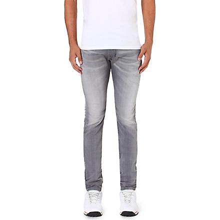 DIESEL Thavar-ne 0830Q skinny-fit tapered jogg jeans (Grey