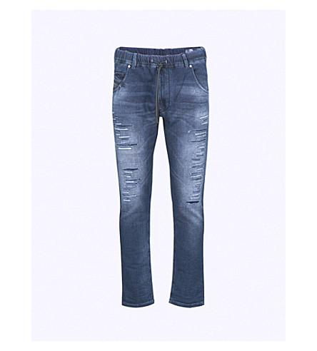 DIESEL Krooley carrot-fit tapered jogg jeans (Denim