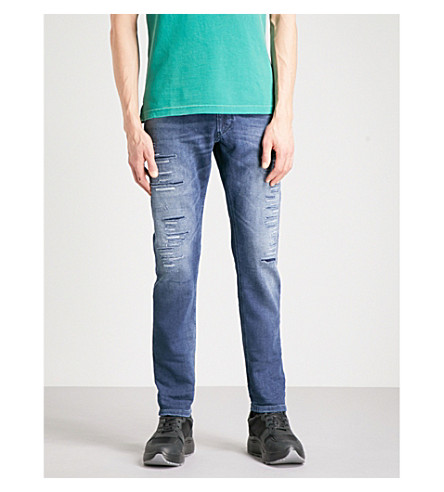 DIESEL Krooley carrot-fit tapered jogg jeans (Denim