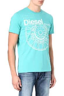 DIESEL Always Positive print t-shirt