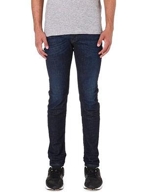 DIESEL Sleenker 0608D skinny-fit tapered jeans L30