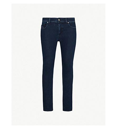 DIESEL Sleenker 修身版型紧身牛仔裤 (靛蓝