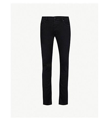 DIESEL Sleenker slash-knee slim-fit skinny jeans (Black