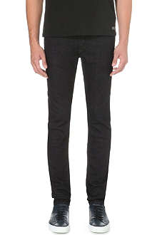 DIESEL Sleenker 0607A skinny mid-rise stretch-denim jeans