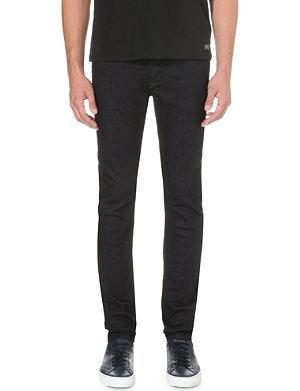 DIESEL Sleenker 0607A skinny mid-rise stretch-denim jeans