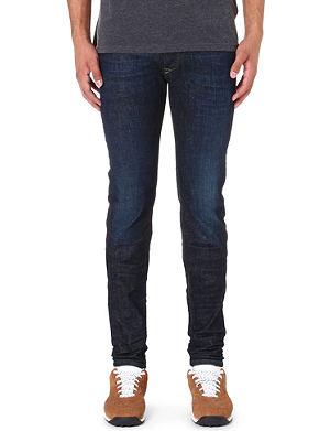 DIESEL Sleenker 0608D skinny-fit tapered jeans L32