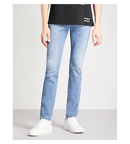 DIESEL Sleenker distressed slim-fit skinny jeans (Denim