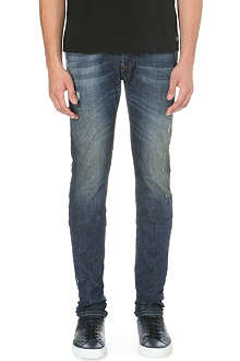 DIESEL Sleenker 0833F skinny mid-rise stretch-denim jeans