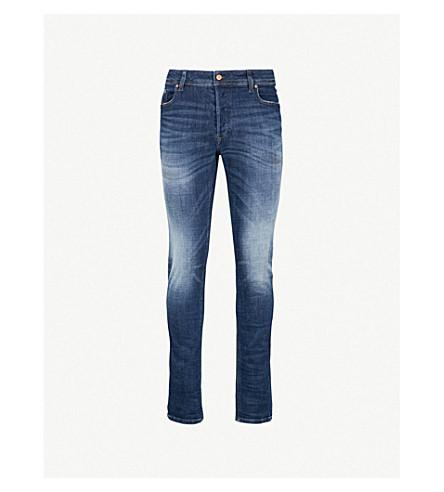 DIESEL Sleenker 直常规版型牛仔裤 (靛蓝