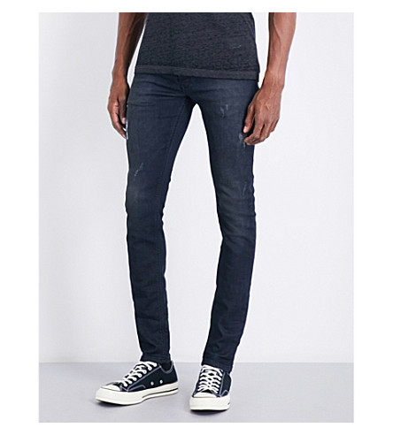 DIESEL Sleenker slim-fit skinny jeans (Dark+wash+black