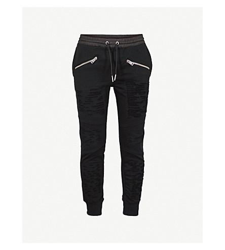 DIESEL P-westin cotton jogging bottoms (Black