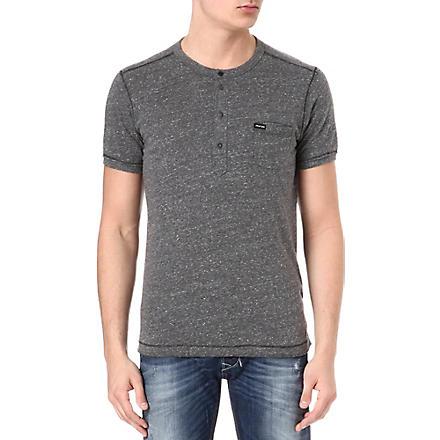DIESEL Henley t-shirt (98s (grey)