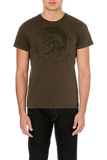 DIESEL T-achell cotton-jersey t-shirt