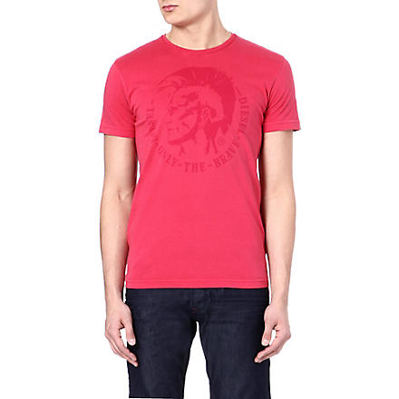 DIESEL Tachell t-shirt (41m (red)