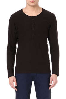 DIESEL Long-sleeved Henley