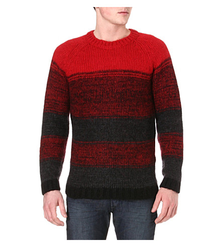 DIESEL Ktengu knitted jumper (41v (red)