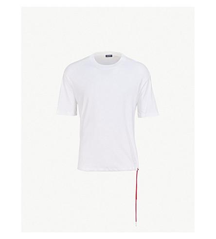 DIESEL T-Plaza cotton-jersey T-shirt (Bright+white