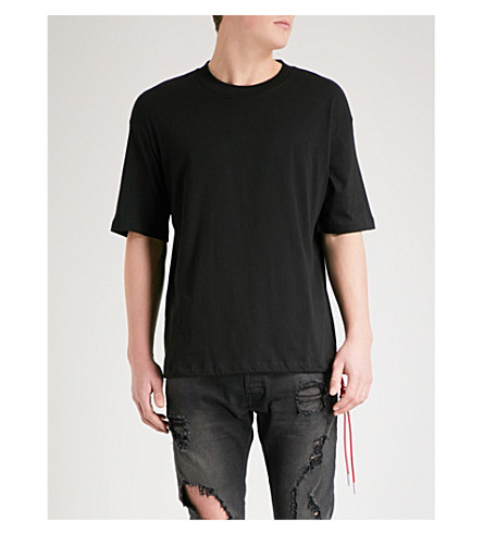 DIESEL T-Plaza cotton-jersey T-shirt (Black