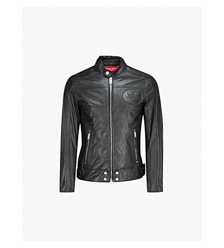 DIESEL L-Street leather jacket (Black